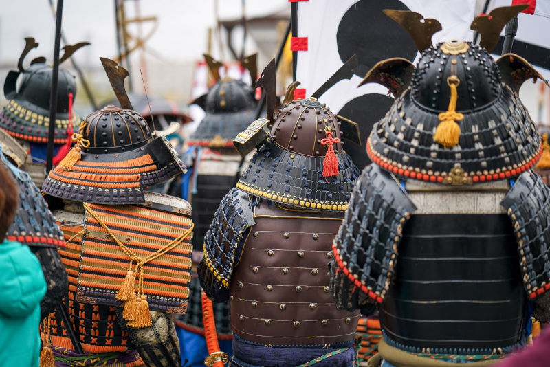 Samurai Warrior and Japanese Blade smiths