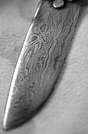 How does Damascus Steel Look Like
