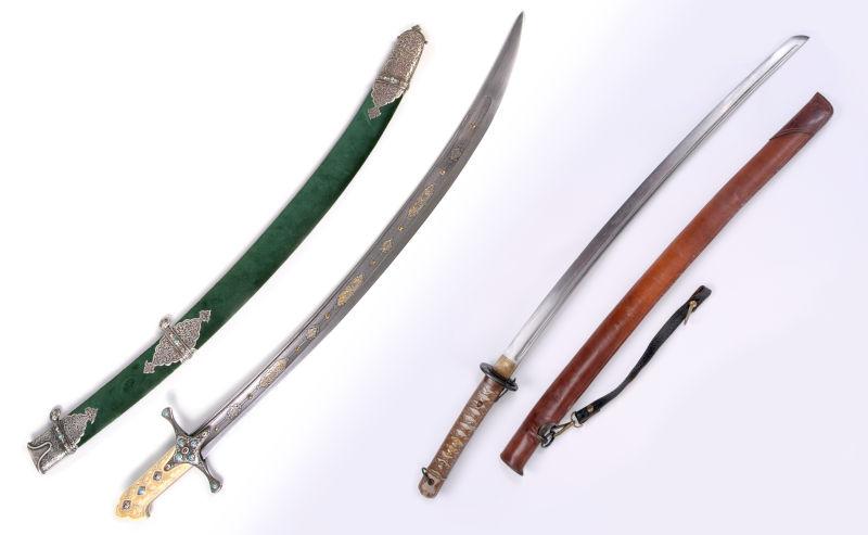 MIddle Eastern Sword vs Japanese Sword