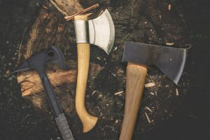 Tomahawk, and Hatchet and Axe