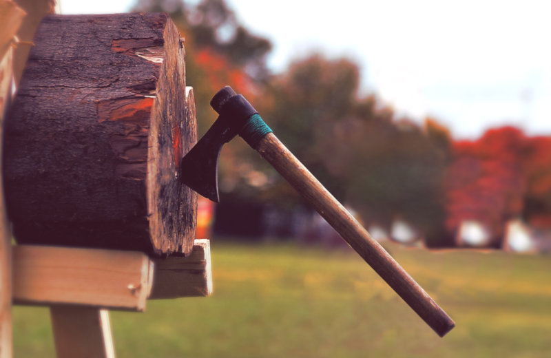 Building An Axe Throwing Target – Visual Plans & Instructions
