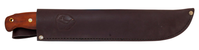 Brown Leather Machete Sheath
