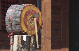 Axe Throwing Games And  Competition